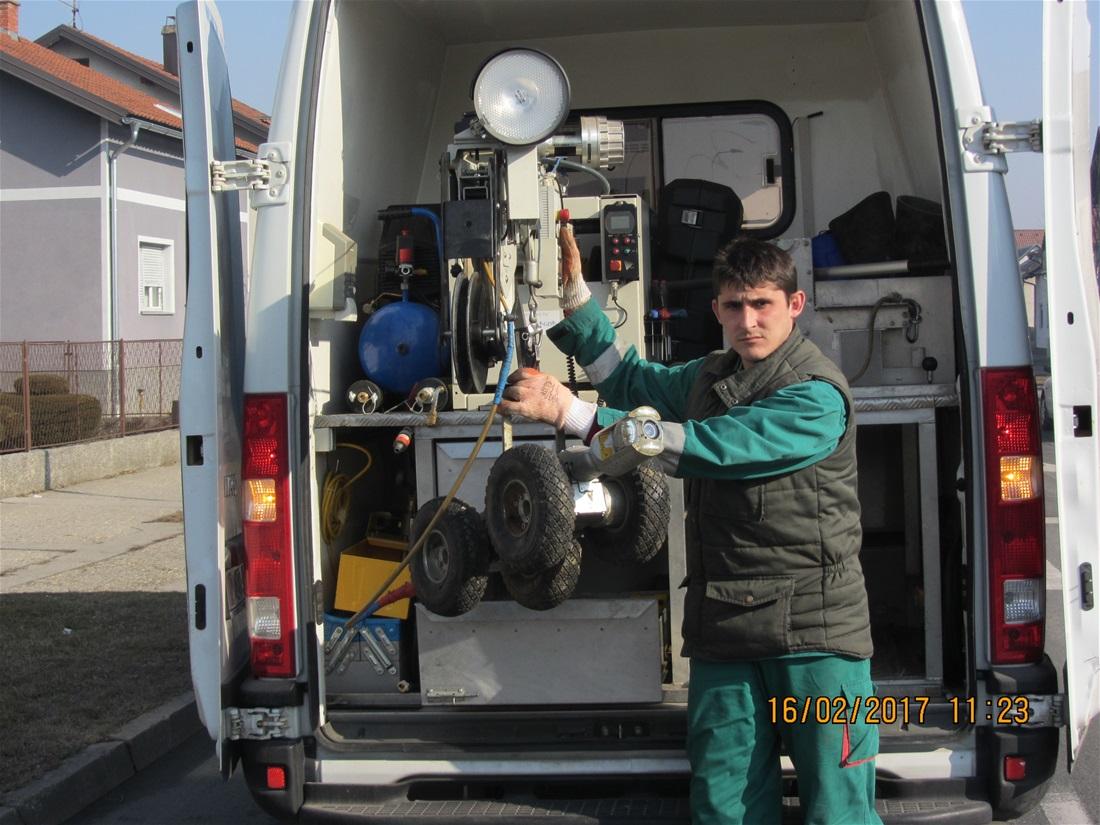 Priprema za ispitivanje i vizualno kodiranje stanja snimanjem daljinski upravljanom CCTV kamerom HRN EN 13508-2:2011