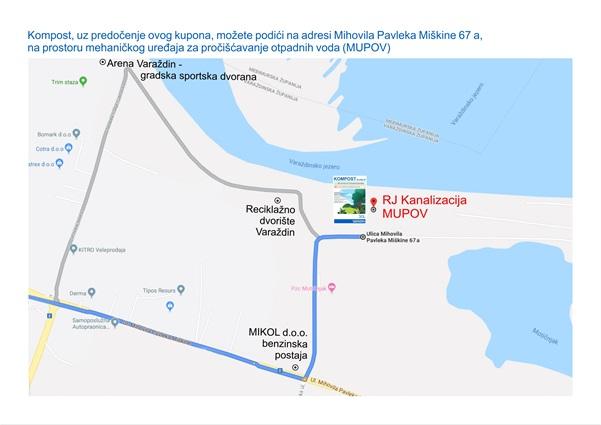 Kompost mapa MUPOV